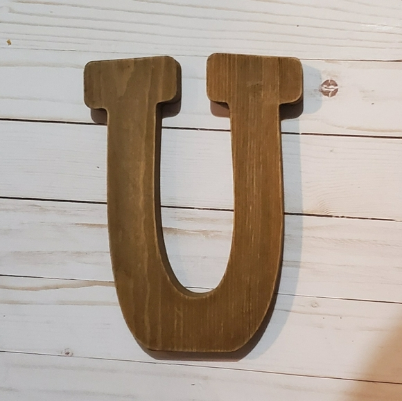 Hobby Lobby Other - Wooden U